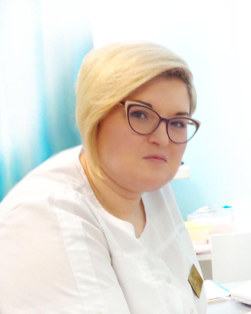 Блинова Юлия Викторовна