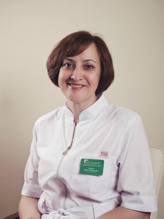 Акиева Ирина Курбановна