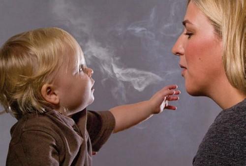 Пассивное курение детей способно спровоцировать психические расстройства