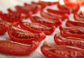Зараженные сушеные томаты