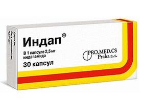 индап инструкция в цена таблетках