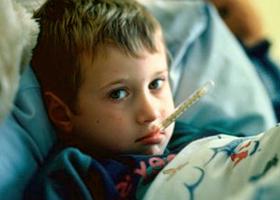 Ребенок с лихорадкой