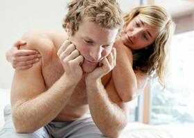 Слабая эрекция у мужчины