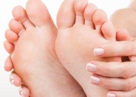 Массаж при онемении ног