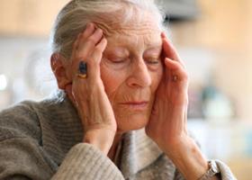 Дезориентация у пожилого человека