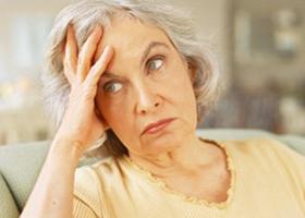 Дезориентация и старческое слабоумие