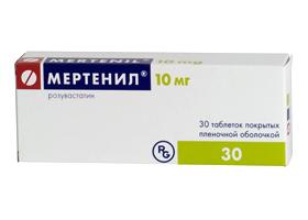 мертенил 20 мг инструкция по применению цена отзывы