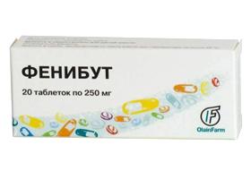 инструкция фенибут таблеток