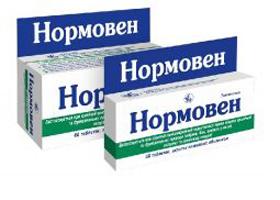 нормовен инструкция по применению таблеток - фото 3
