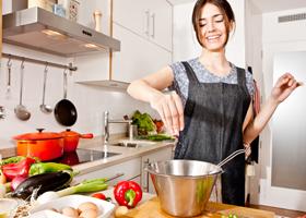 Готовить еду дома вредно для здоровья?