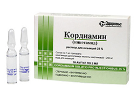 кордиамина инструкция