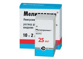 мелипрамин инструкция по применению таблетки - фото 4