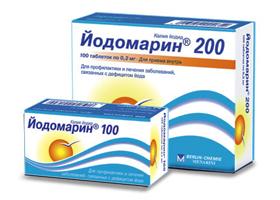 йодомарин 100 инструкция по применению цена отзывы - фото 2