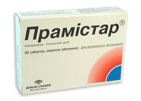 таблетки прамистар инструкция по применению img-1