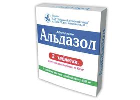 альдазол инструкция по применению таблетки
