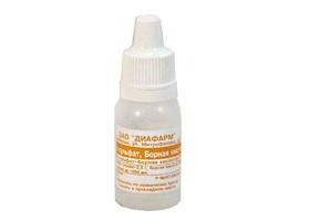 цинка-сульфат диа глазные капли инструкция