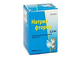 Натрия Фторид