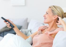 Просмотр телевизора повышает риск развития диабета
