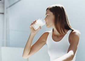 Молоко поможет похудеть