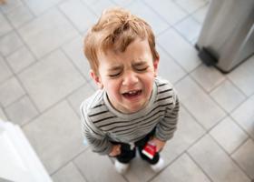 С детской истерикой можно справиться с помощью разговора