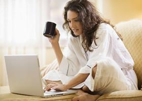Любители Интернета чаще болеют гриппом и простудой