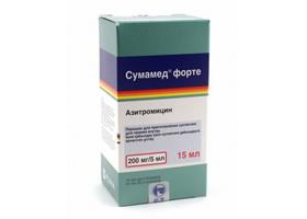 сумамед суспензия инструкция 200 мг