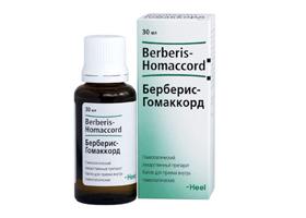 Berberis homaccord инструкция