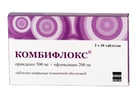таблетки комбифлокс инструкция