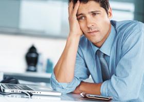 Стрессы негативно влияют на внешний вид