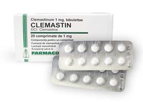 Клемастин