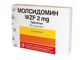 инструкция по применению молсидомин-лф