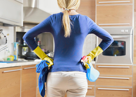 Хаос в доме способствует набору веса
