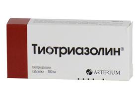 Инструкция по применению тиотриазолина