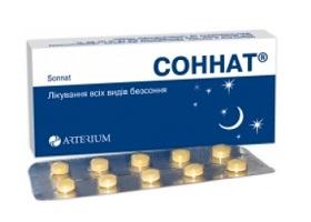 соннат таблетки инструкция по применению
