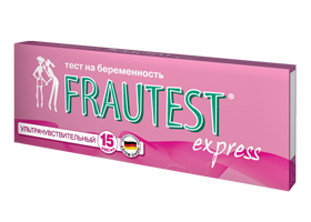Стрип-проверка Frautest Express