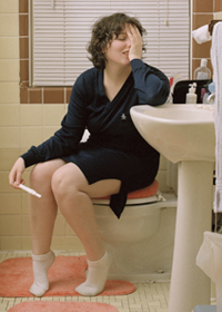 Сомнительный результат проверки на беременность