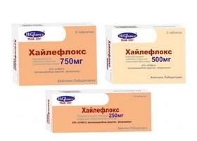 Цифран ОД (500 мг): инструкция по применению, показания.