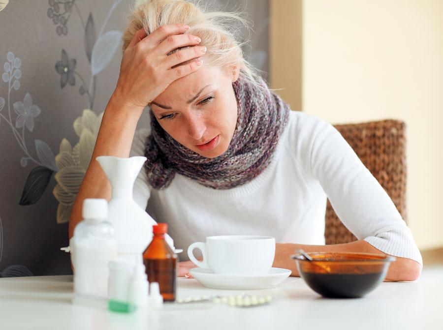 Чем грипп отличается от простуды