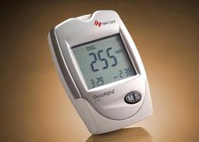 Электронный измеритель уровня холестерина
