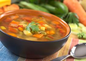 Суп овощной на 7 дней
