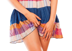 Дискомфорт в области наружных половых органов