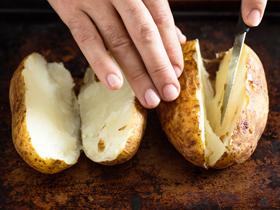 Разгрузочный день на картофеле