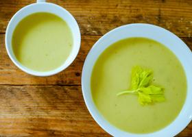 Супы из сельдерея