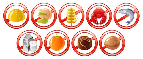 Продукты, употребление которых рекомендуется ограничить при бронхиальной астме
