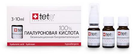 Препараты низкомолекулярной ГК TETe