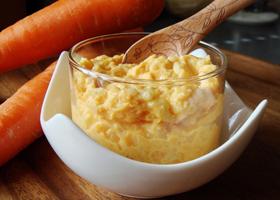 Пудинг морковно-рисовый