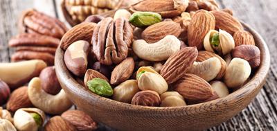 Орехи при атеросклерозе