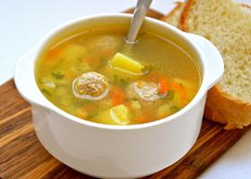 Овощной суп с крупой