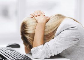 Аллергию может вызвать работа за компьютером