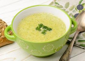 Измельченный крем-суп
